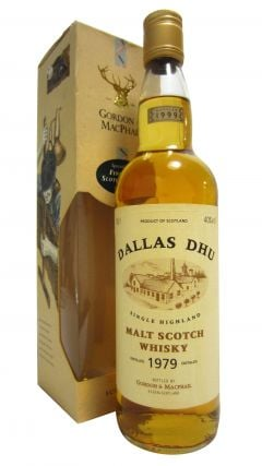 Dallas Dhu (silent) - Single Highland Malt Scotch - 1979 20 year old Whisky