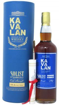 Kavalan - Solist Vinho Barrique Single Cask Whisky