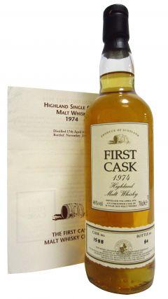 Glen Albyn (silent) - First Cask Single Cask #1588 - 1974 26 year old Whisky