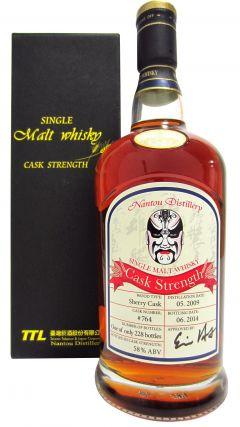 Nantou - Single Cask #764 - 2009 5 year old Whisky
