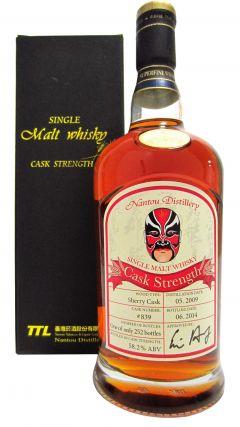 Nantou - Single Cask #839 - 2009 5 year old Whisky
