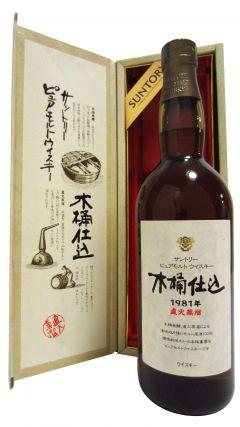 Hakushu - Kioke Shikomi Pure Malt - 1981 24 year old Whisky