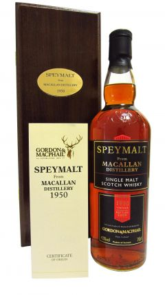 Macallan - Speymalt - 1950 58 year old Whisky