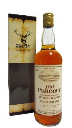 Old Pulteney - Rare Highland Malt - 1961 Whisky