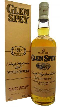 Glen Spey - Single Highland Malt (old bottling) 8 year old Whisky