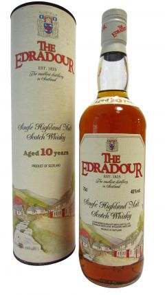 Edradour - Single Highland Malt (old bottling) 10 year old Whisky