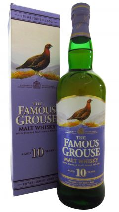 Famous Grouse - 100% Blended Malt 10 year old Whisky