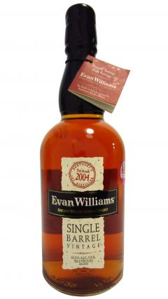 Evan Williams - Single Barrel #837 - 2004 9 year old Whiskey