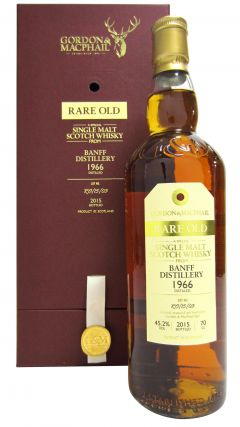 Banff (silent) - Rare Old - 1966 49 year old Whisky