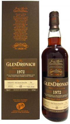 GlenDronach - Single Cask #706 (Batch 12) - 1972 43 year old Whisky