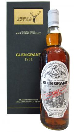 Glen Grant - Speyside Single Malt Scotch - 1951 61 year old Whisky