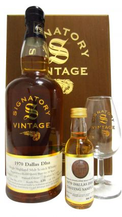 Dallas Dhu (silent) - Signatory Vintage Rare Reserve Box Set - 1970 30 year old Whisky