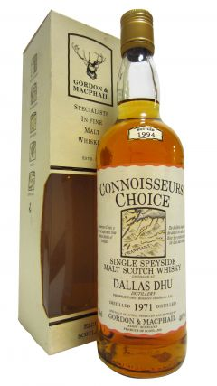 Dallas Dhu (silent) - Connoisseurs Choice - 1971 23 year old Whisky