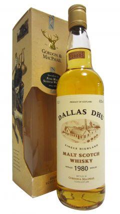 Dallas Dhu (silent) - Single Highland Malt Scotch - 1980 20 year old Whisky