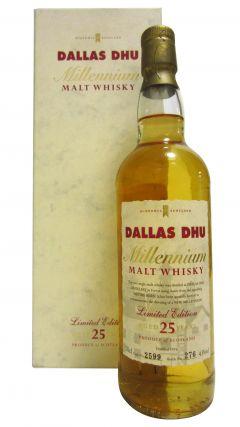 Dallas Dhu (silent) - Millennium - 1974 25 year old Whisky