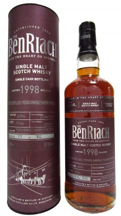 BenRiach - Single Cask #6394 - 1998 17 year old Whisky