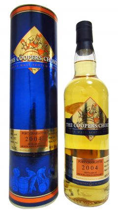 Port Charlotte - Coopers Choice #1036 - 2004 9 year old Whisky