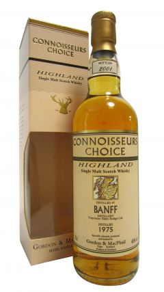 Banff (silent) - Connoisseurs Choice - 1975 25 year old Whisky