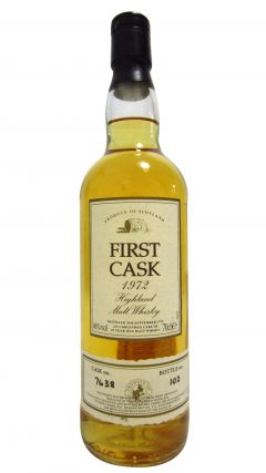 Glencadam - First Cask - 1972 29 year old Whisky