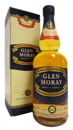 Glen Moray - Mellowed in Wine Barrels 12 year old Whisky