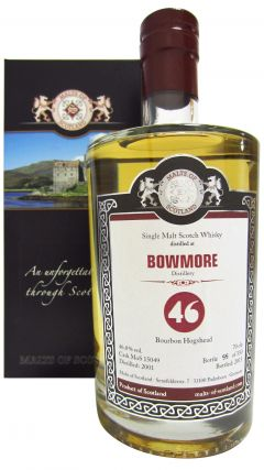 Bowmore - Bartels Single Cask #15049 - 2001 14 year old Whisky