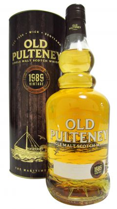 Old Pulteney - 1989 Vintage Lightly Peated - 1989 26 year old Whisky