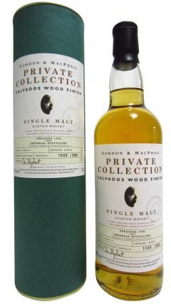 Imperial (silent) - Private Collection - Calvados Wood Finish - 1990 9 year old Whisky