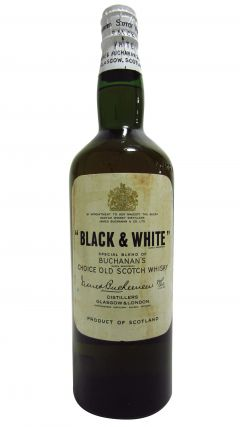 Blended Malt - Black & White Spring Cap Whisky