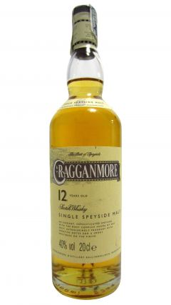 Cragganmore - Single Speyside Malt (20cl bottle) 12 year old Whisky