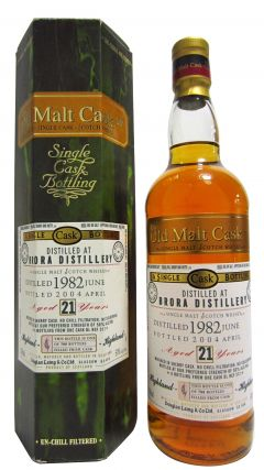 Brora (silent) - Old Malt Cask - 1982 21 year old Whisky