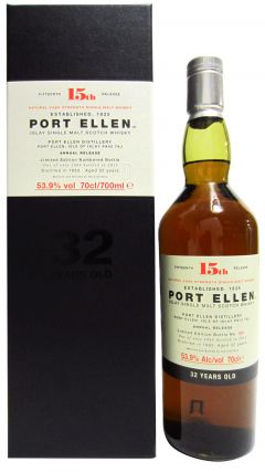 Port Ellen (silent) - 15th Release - 1983 32 year old Whisky