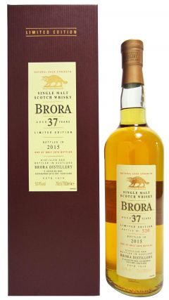 Brora (silent) - 2015 Special Release - 1977 37 year old Whisky