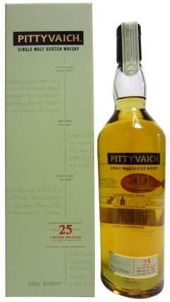 Pittyvaich (silent) - Single Malt - 1989 25 year old Whisky