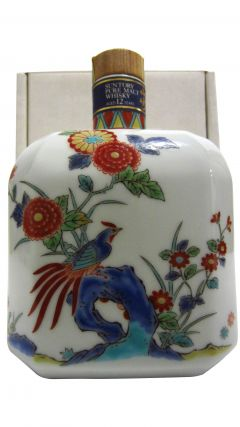 Suntory - The Peacock Ceramic Decanter 12 year old Whisky