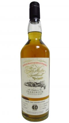 Teaninich - The Single Malts of Scotland  - 1973 40 year old Whisky