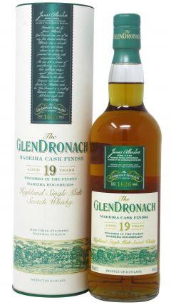 GlenDronach - Madeira Cask Finish 19 year old Whisky