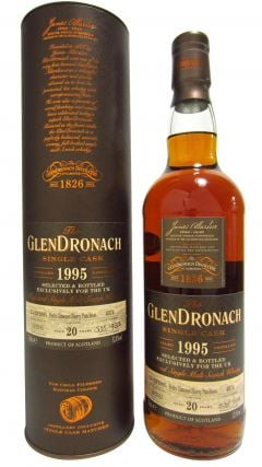 Glendronach - Single Cask #4074 (UK Exclusive) - 1995 20 year old Whisky