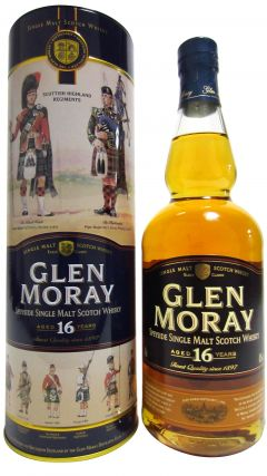 Glen Moray - Scottish Highland Regiments 16 year old Whisky