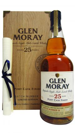 Glen Moray - Port Cask Finish Batch #2 - 1987 25 year old Whisky