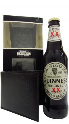 Beer / Lager / Cider - Guinness Bottle & Wallet Gift Set Whiskey