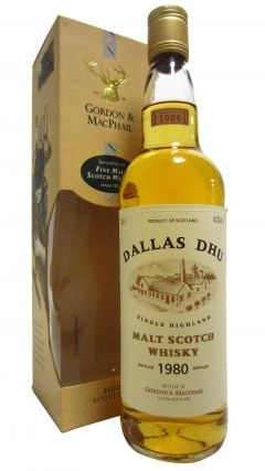 Dallas Dhu (silent) - Single Highland Malt - 1980 20 year old Whisky