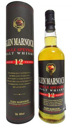Glen Marnoch - Speyside Single Malt 12 year old Whisky