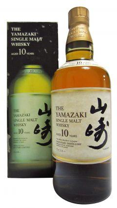 Yamazaki - Single Malt (old Japanese bottling) 10 year old Whisky