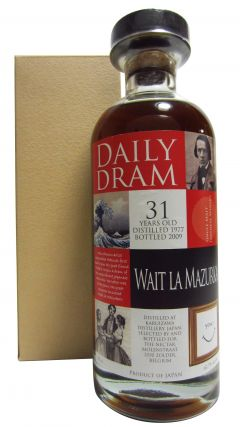 Karuizawa (silent) - Daily Dram Wait La Mazurka Single Cask #6994 - 1977 31 year old Whisky