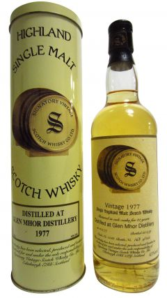 Glen Mhor (silent) - Signatory Vintage - 1977 21 year old Whisky