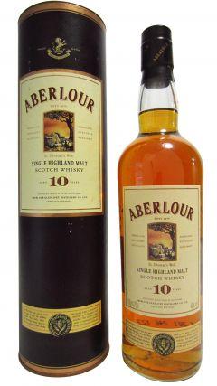 Aberlour - Single Highland Malt (old bottling) 10 year old Whisky