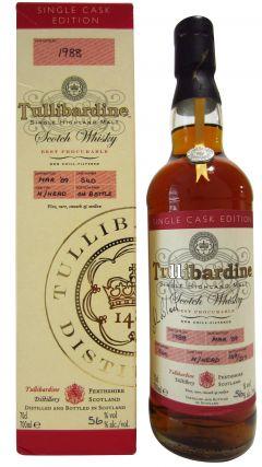 Tullibardine - Single Cask Edition - 1988 21 year old Whisky