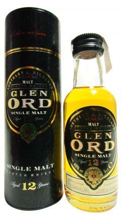 Glen Ord - Single Malt Miniature 12 year old Whisky