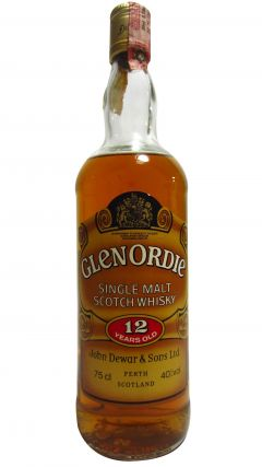 Glen Ord - Glenordie Single Malt 12 year old Whisky