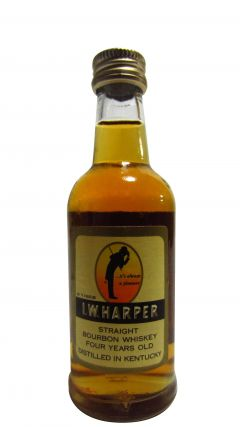 Kentucky Distillers - l.W. Harper Gold Medal Miniature 4 year old Whisky